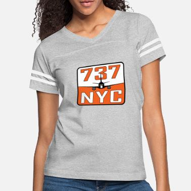 NYC 737 - Women's Vintage Sport T-Shirt