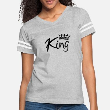 King Queen King / Queen Partnerlook - Women's Vintage Sport T-Shirt