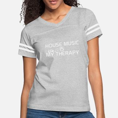 House House music is my therapy - Women's Vintage Sport T-Shirt