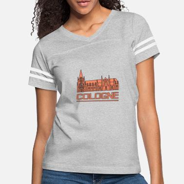 Cologne Cathedral Cologne Cathedral - Women's Vintage Sport T-Shirt