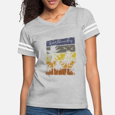 Reef Retro Great Barrier Reef Beach Print Vacation - Women's Vintage Sport T-Shirt