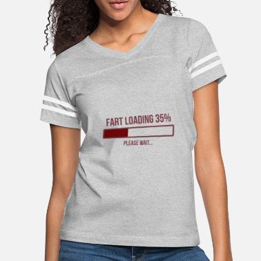 Wait Fart Loading Please Wait! Fart is loading saying - Women's Vintage Sport T-Shirt