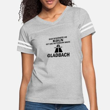 Gladbach The best thing about Cologne - Women's Vintage Sport T-Shirt