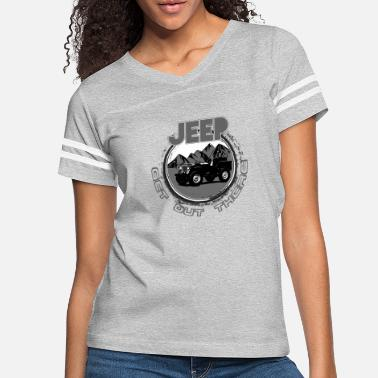 Vintage Get out There - Women's Vintage Sport T-Shirt