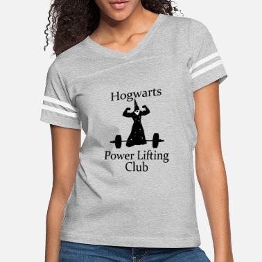 Hogwarts Power Lifters - Women's Vintage Sport T-Shirt