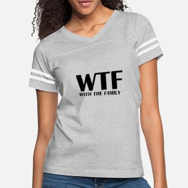 Vacation WTF With The Family - Women's Vintage Sport T-Shirt