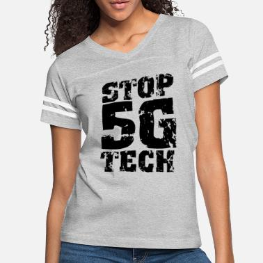 Anti Opponent 5G Radiation Cancer Stop 5G Anti 5G - Women's Vintage Sport T-Shirt