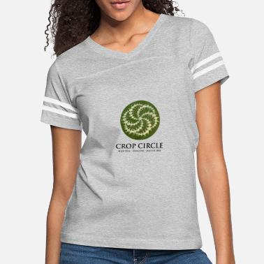 Circle Crop Circle - Women's Vintage Sport T-Shirt