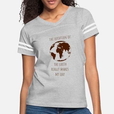 Demo Rotation earth day gift ecology climate change - Women's Vintage Sport T-Shirt