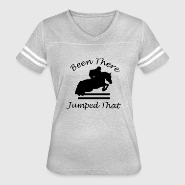Been There, Jumped That - Women's Vintage Sport T-Shirt