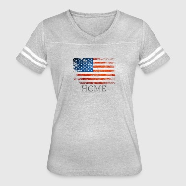 My Home Is USA - Women's Vintage Sport T-Shirt