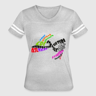 Interpreter Pride - Women's Vintage Sport T-Shirt