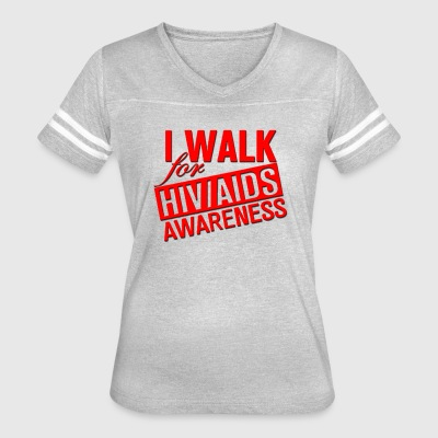 AIDS Awareness - Women's Vintage Sport T-Shirt