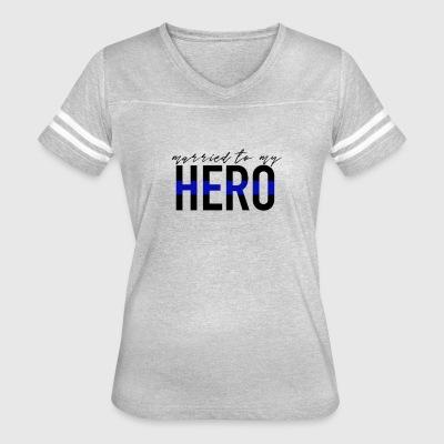Married To My Hero - Women's Vintage Sport T-Shirt