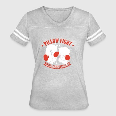 Pillow Fight Featherweight Division - Women's Vintage Sport T-Shirt