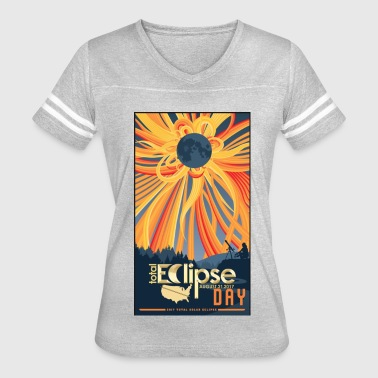 Total Solar Eclipse Perfect Tshirt - Women's Vintage Sport T-Shirt