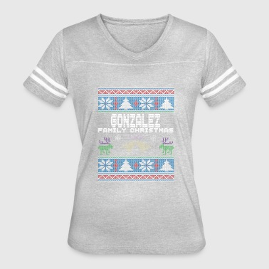 Ugly Gonzalez Christmas Family Vacation Tshirt - Women's Vintage Sport T-Shirt