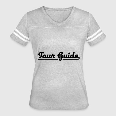 2541614 115206127 Tour Guide - Women's Vintage Sport T-Shirt