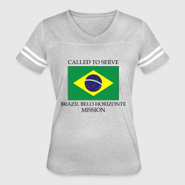 Brazil Belo Horizonte LDS Mission Called to Serve - Women's Vintage Sport T-Shirt