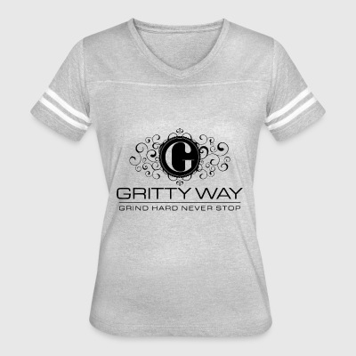 GrittyWay - Women's Vintage Sport T-Shirt