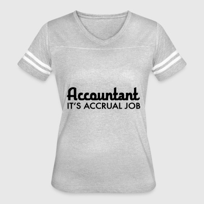 accountant - Women's Vintage Sport T-Shirt