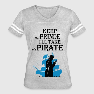 I'll take the Pirate! - Women's Vintage Sport T-Shirt