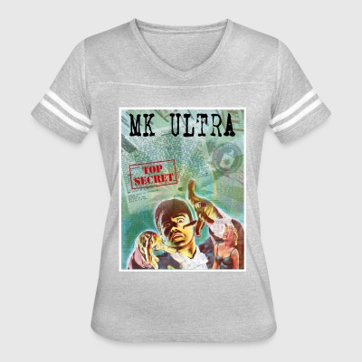 MK Ultra: Top Secret - Women's Vintage Sport T-Shirt