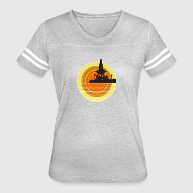 Afterburner 2 0 - Women's Vintage Sport T-Shirt