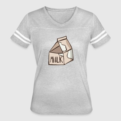 milk - Women's Vintage Sport T-Shirt