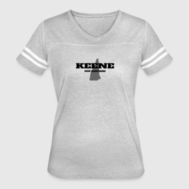 NEW HAMPSHIRE KEENE US STATE EDITION - Women's Vintage Sport T-Shirt