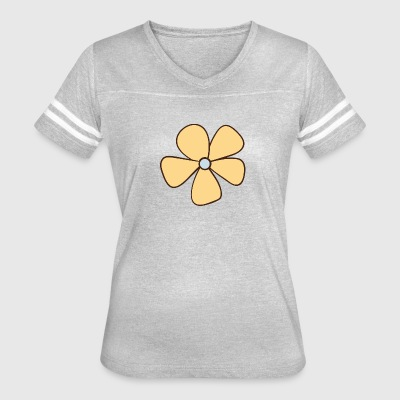 Flower 1 - Women's Vintage Sport T-Shirt
