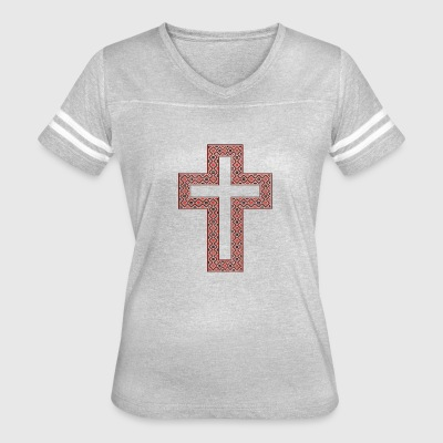 beautiful cross - Women's Vintage Sport T-Shirt