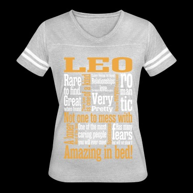 Leo Amazing In Bed - Women's Vintage Sport T-Shirt