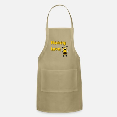 Honey Honey Love with Honey Bee - Apron
