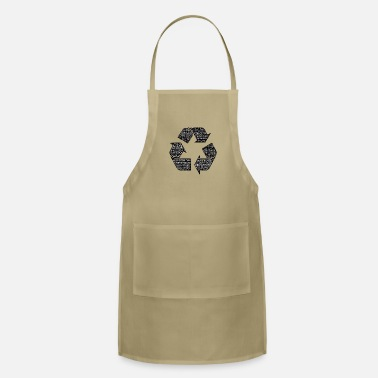 Typography Recycling - Typography - Apron