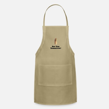 Restroom See You Tomorrow Peanut Poop Funny - Apron