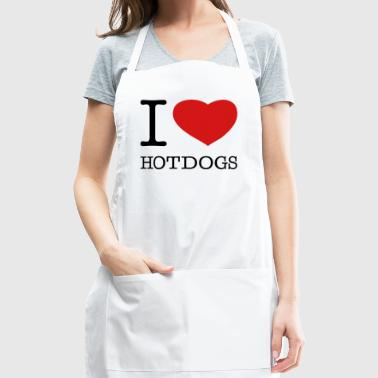 I LOVE HOT DOGS - Adjustable Apron