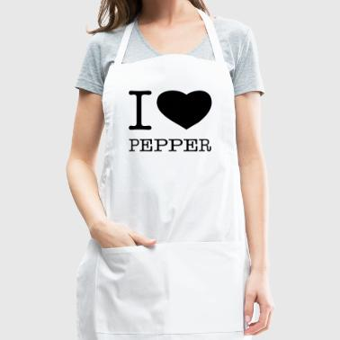 I LOVE PEPPER - Adjustable Apron