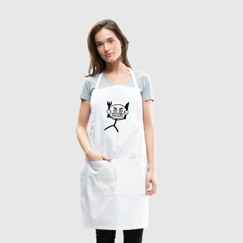 Hangry Stickman - Adjustable Apron