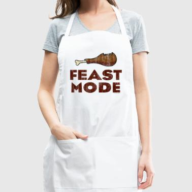 Feast Mode Funny Thanksgiving - Adjustable Apron