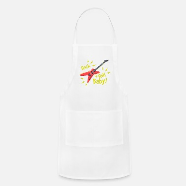 ROCK AND ROLL BABY - Adjustable Apron