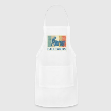 Retro Vintage Style Pool Billiard Player Snooker - Adjustable Apron