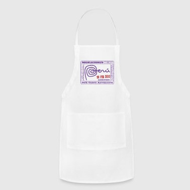 Peru Passport Stamp - Adjustable Apron