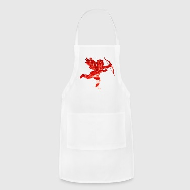 Cute Love Cupido Shirt Gift Idea for men and women - Adjustable Apron