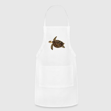 Sea Turtle Hawksbill turtle - sea turtle - Adjustable Apron