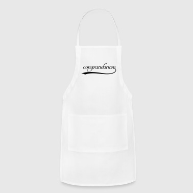 Congratulations Congrats - Adjustable Apron