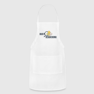 Busy Searching - Adjustable Apron