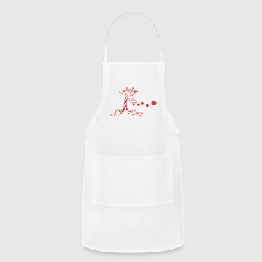 girafe vector - Adjustable Apron