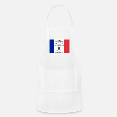French Flag French flag Eifflel tower - Adjustable Apron