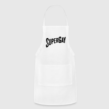 super gay - Adjustable Apron